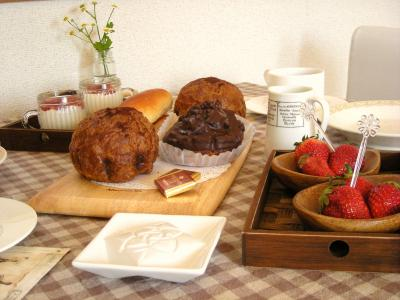 ロイズのパンで朝ごはん_convert_20100408142727