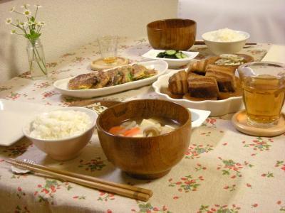 豚の角煮で晩ごはん_convert_20100413140505