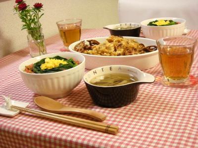 豆腐そぼろ丼で晩ごはん_convert_20100429151705