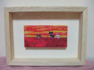 猫アート1