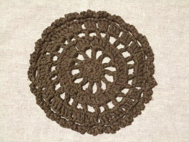 円形のドイリー