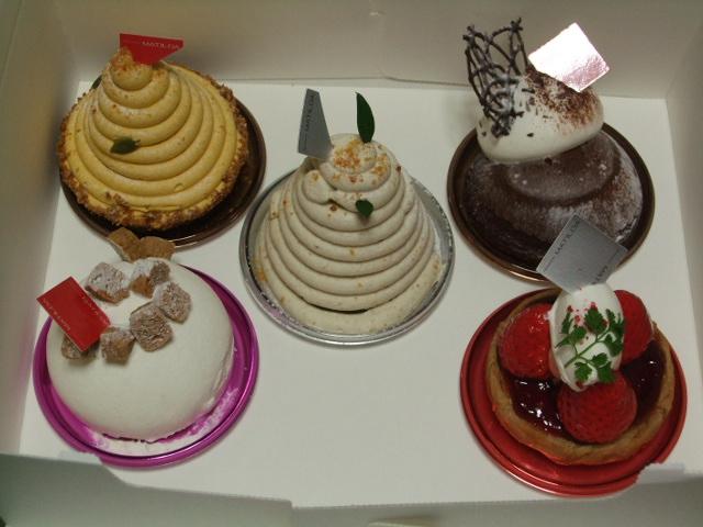 『マチルダ』のケーキ
