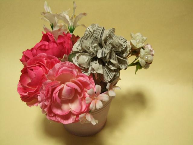 英字新聞のお花