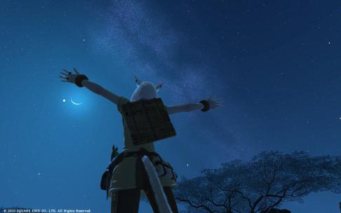 夜空が綺麗