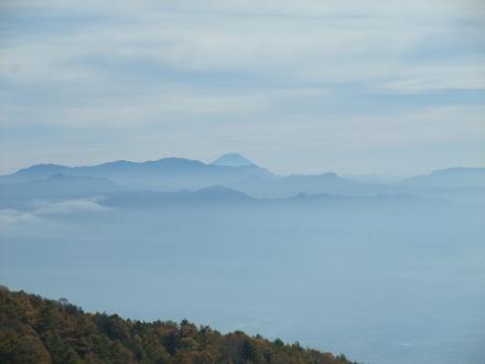 チラ見せ富士山