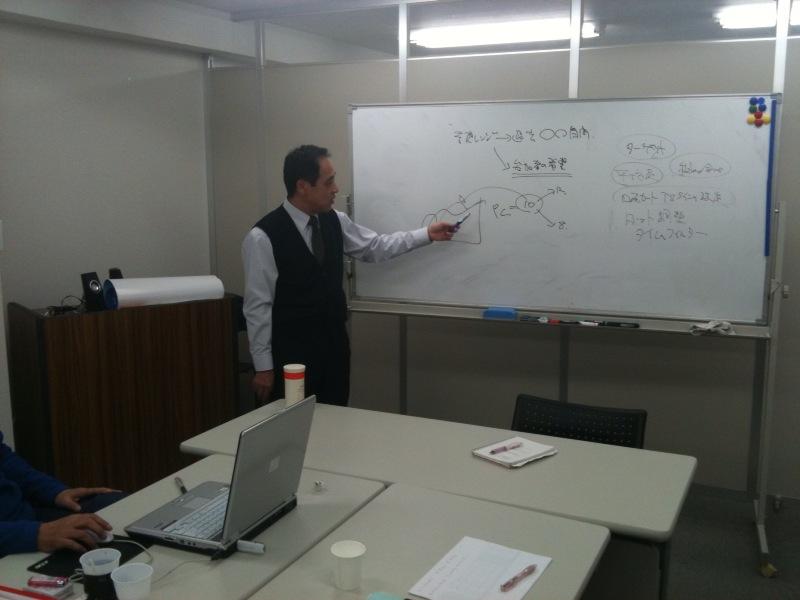 大阪教室の授業風景です