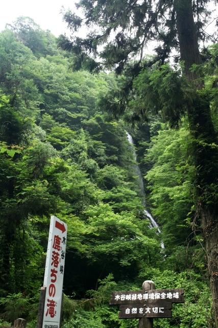 木谷峡 鹿落ちの滝