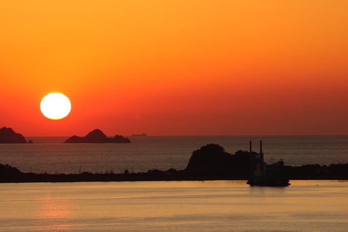 瀬戸の夕日3