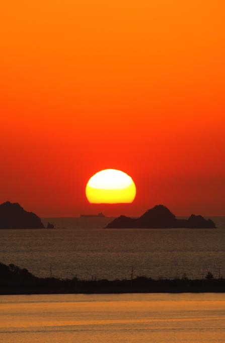 瀬戸の夕日4