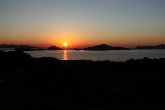 瀬戸の夕日2