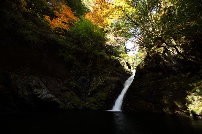 木谷峡 八幡の滝