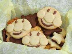 アンパンマンクッキー♪