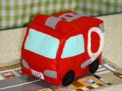 フェルト消防車