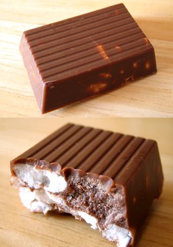 『アランジ アロンゾ』のチョコレート