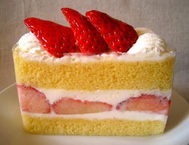 『千疋屋総本店』の苺のショートケーキ