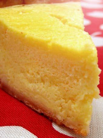 『ムッシュ・ソレイユ』のチーズケーキ
