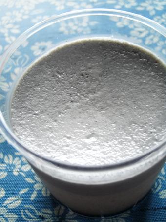 『福福』の黒ごまプリン