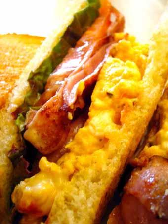 『mizutama(みずたま)』のサンドイッチ