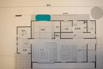 和室坪庭計画2