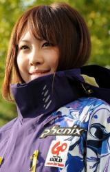 スノボ藤森由香選手