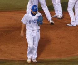2008年当時の三浦投手