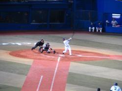 村田選手のあわや本塁打性??の犠牲フライ