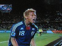 w杯日本vsデンマーク戦 (2)