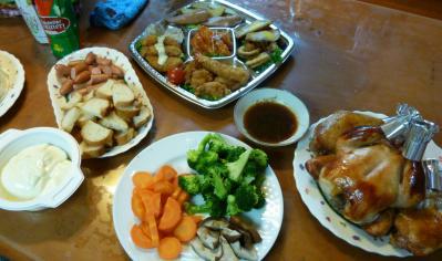 2010年のクリスマス料理