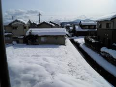 冒頭用雪景色