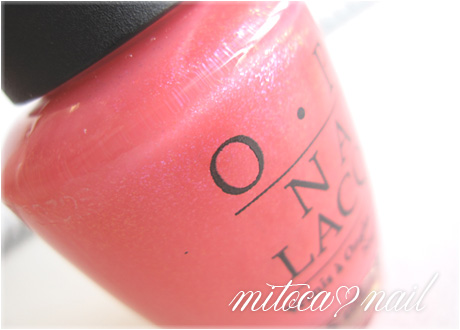OPI #SRAL9 Pink Cup Cake(ピンクカップケーキ)