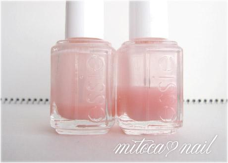 essie#641 True Love(トゥルーラブ)とessie#545 Pink Glove Service(ピンク・グローブ・サービス)