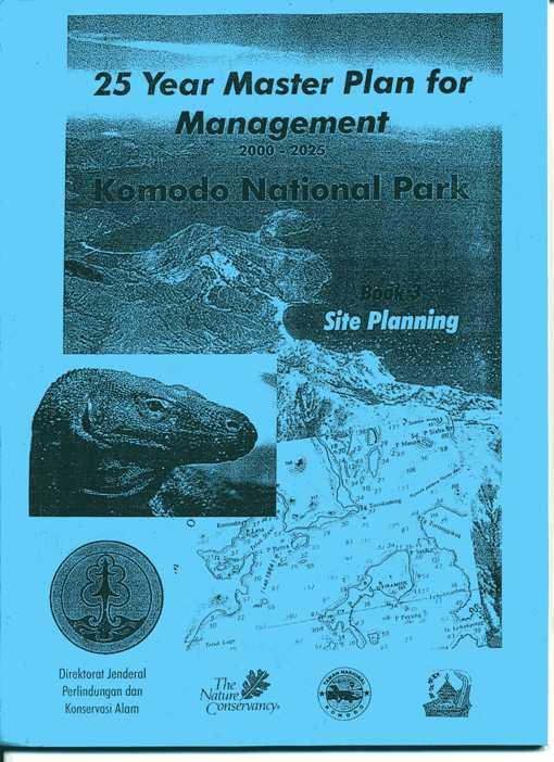 コモド国立公園25年マスター計画ー2000~25縮小