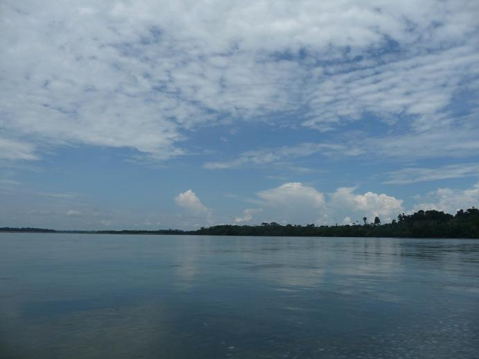 アマゾン源流ポー川