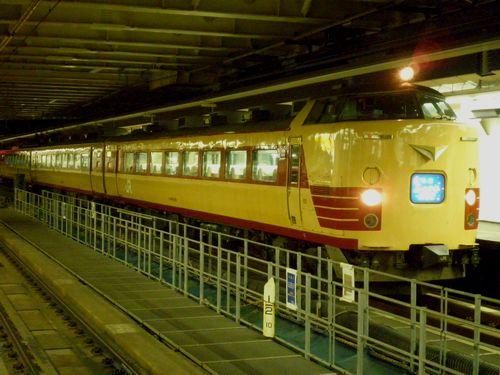 新ニイ485系「ムーンライトえちご」(2012年3月21日・新宿駅)3