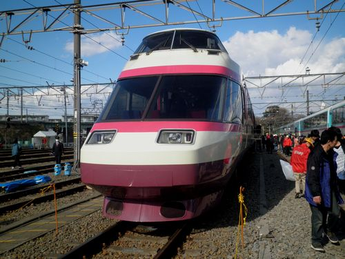 小田急HiSE10000形(2012年3月25日・海老名)