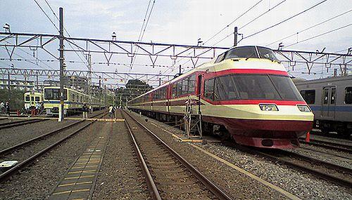小田急10000形HiSE(2008年10月19日・海老名)