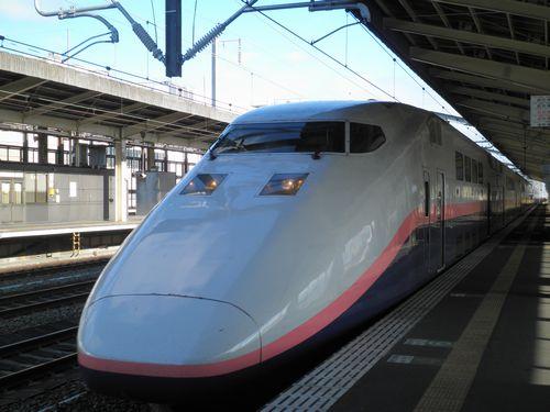 上越新幹線E1系(2010年11月1日・熊谷)