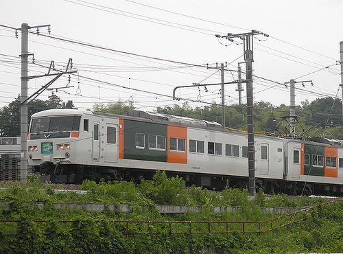 東チタ185系B5編成・特急「はまかいじ号」(2011年6月12日・片倉~八王子間)