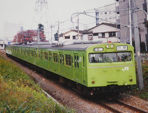 宮ハエ103系3500番代56編成(2003年11月26日・八王子~北八王子間)