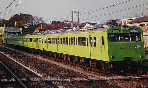 宮ハエ103系3000番代51編成(2003年11月26日・拝島駅)