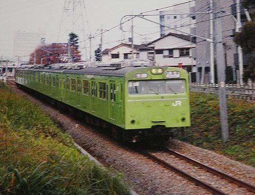 宮ハエ103系3000番代55編成(2003年11月26日・八王子~北八王子間)
