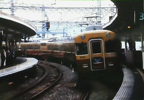 京阪旧3000系(八幡市駅)