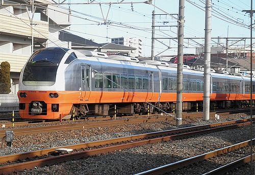 水カツE653系K351編成「氏家雛めぐり号」(2013年2月9日・大宮~土呂間)