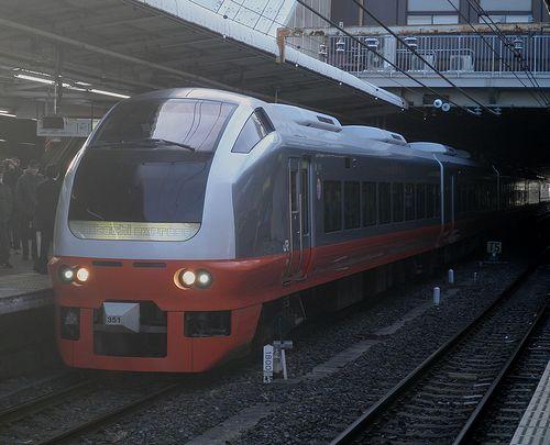 水カツE653系K351編成「氏家雛めぐり号」(2013年2月9日・大宮駅)
