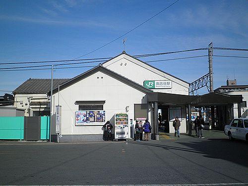 川越線南古谷駅(2013年2月9日)1