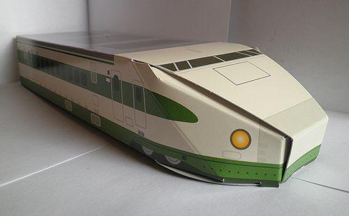 「東北新幹線200系太巻き寿司弁当」(2013年2月9日)1