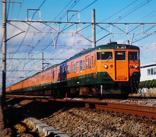横コツ113系K50編成(2003年12月7日・辻堂~茅ヶ崎間)
