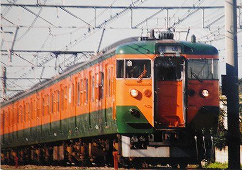 静シス113系T16編成(2003年12月7日・辻堂~茅ヶ崎間)