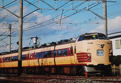千マリ183系「6」編成(2003年12月7日・辻堂~茅ヶ崎間)