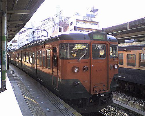クハ111-2056(千マリ・117編成)(2010年2月21日・千葉駅)